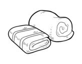 Disegno di Asciugamani da bagno da colorare