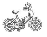 Disegno di Biciclette per bambini da colorare