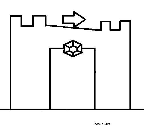 Disegno di Castello da Colorare