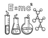 Disegno di Classe chimica da colorare