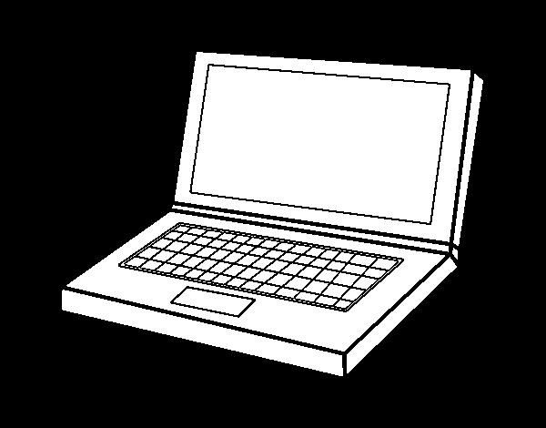 Раскраска компьютерная детям