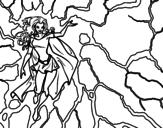 Disegno di Eroina Tempesta da colorare