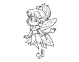 Dibujo de Fata magica della foresta