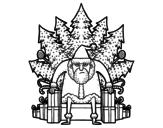 Disegno di Game of Thrones Natale da colorare