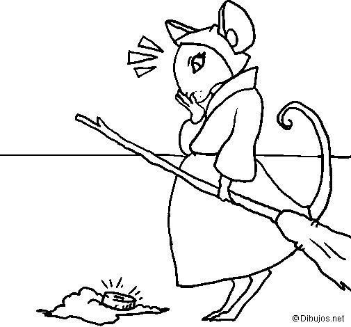 Disegno di La topolina civettuola 2 da Colorare
