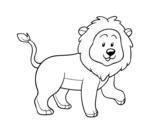 Disegno di Leone adulti da colorare