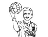 Dibujo de Lionel Messi