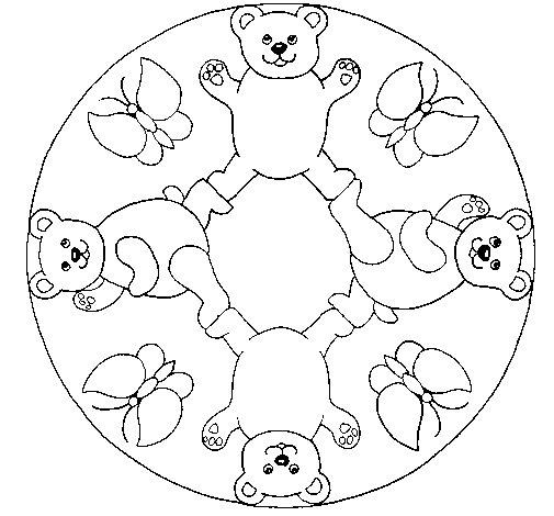 Disegno di Mandala 10 da Colorare - Acolore.com