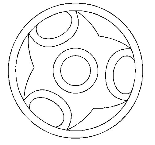 Disegno di Mandala 12 da Colorare