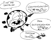 Dibujo de Mondo inquinato