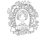 Disegno di Omaggio a tutte le mamme da colorare