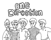 Disegno di One Direction 3 da colorare