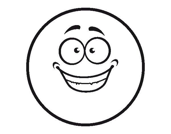 Eccezionale Disegno di Smiley felice da Colorare - Acolore.com DJ63