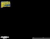 Disegno di SpongeBob - La invincibolla  da colorare