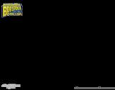 Disegno di SpongeBob - Sandy Scoiattolo da colorare