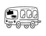 Disegno di Uno scuolabus da colorare