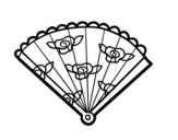 Dibujo de Ventaglio floreale