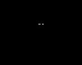 Disegno di Zanzara con grandi ali da colorare