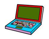 Disegno Computer portatile pitturato su alessiacom