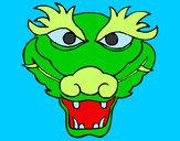 Disegno Drago 5 pitturato su gabry73