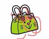 Sacchetto muso di gatto