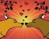 Lupi innamorati