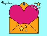 Lettera con cuore