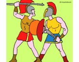 Lotta di gladiatori