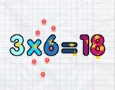 3 x 6