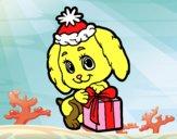 Piccolo cane Natale