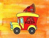 Food truck di pizza