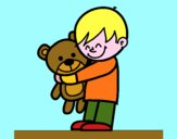 Ragazzo con teddy