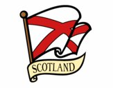 Bandiera della Scozia