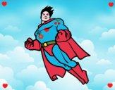 Superman in volo