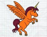 Disegno Giovani Unicorn pitturato su OnlyZyra