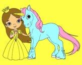 Principessa e unicorno