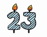23 anni