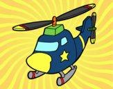 Elicottero con una stella