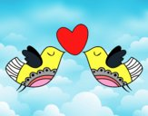 Uccelli con il cuore
