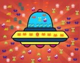UFO volante