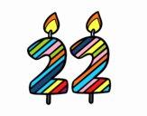 22 anni
