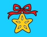 Una stella natalizia