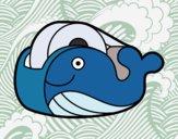 Nastro adesivo balena