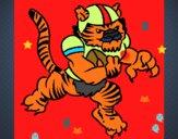 Giocatore tigre