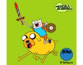 Jake e Finn ad attaccare