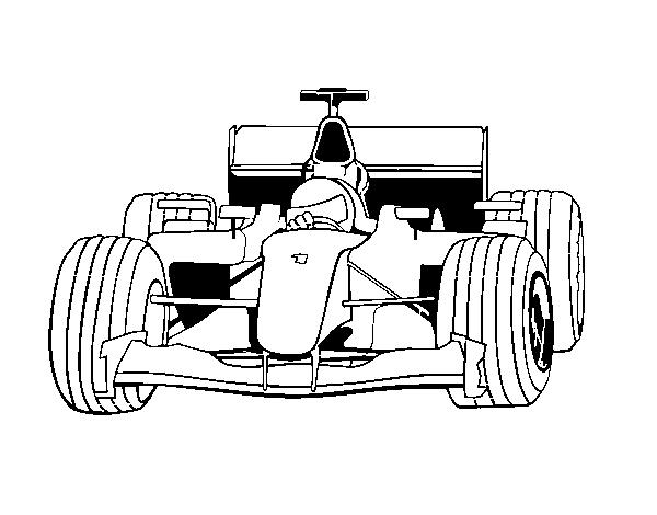 F1 Da Colorare Fredrotgans