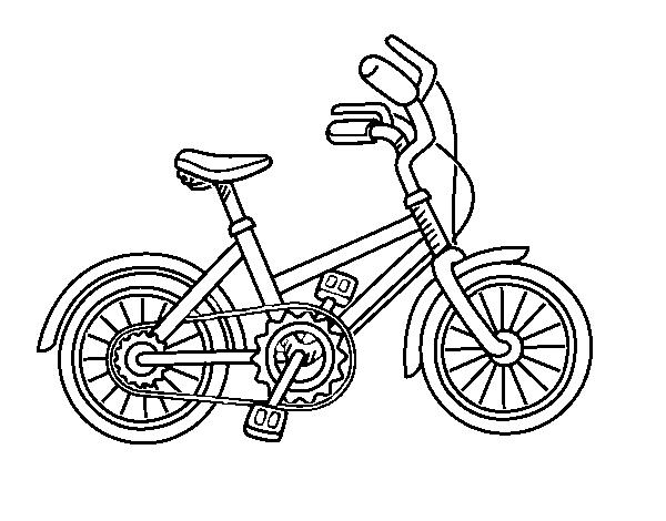 Disegno Di Biciclette Per Bambini Da Colorare Acolorecom