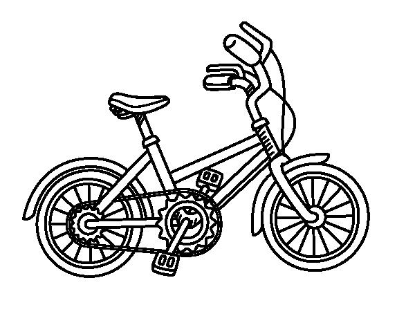 Bicicletta Disegno Da Colorare.Disegno Di Biciclette Per Bambini Da Colorare Acolore Com