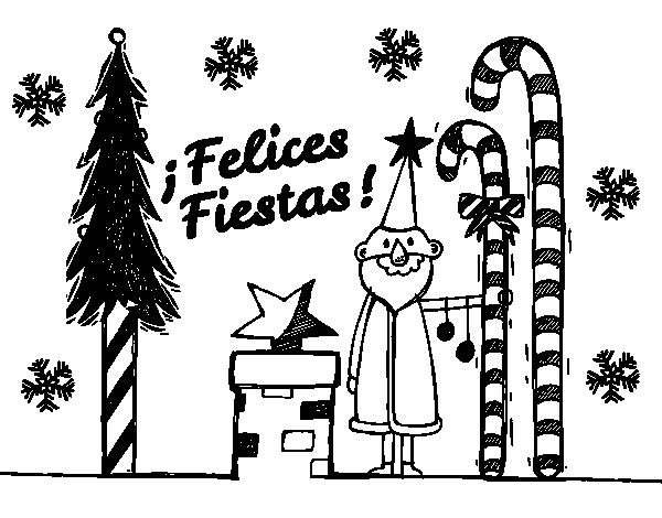 Disegno Di Cartolina Buone Vacanze Da Colorare Acolorecom