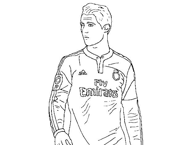 Disegno Di Cristiano Ronaldo Da Colorare Acolorecom